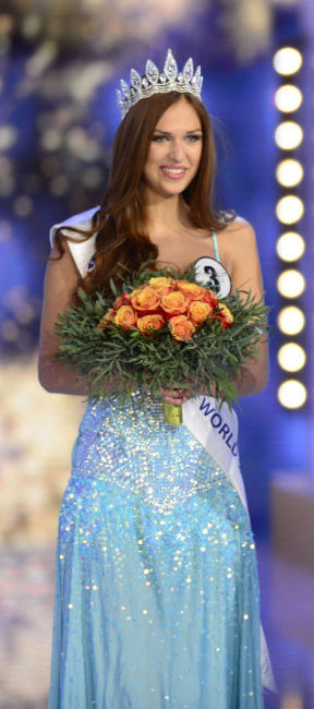 Lucie Kovandova will travel to Indonesia to Miss World 2013