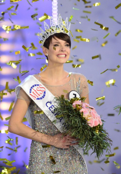 Miss Universe Gabriela Kratochvilova will represent the Czech Republic