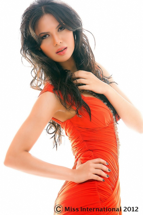 rochelle maria rao  u2013 miss india international 2012